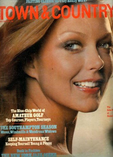 Susan Blakely Photographs Magazine Covers